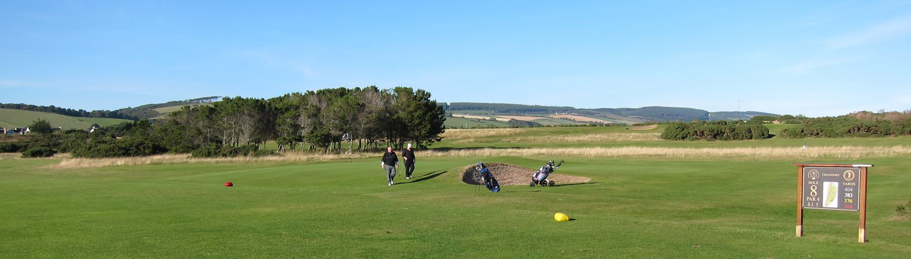Fortrose golf course, Scottish Highlands